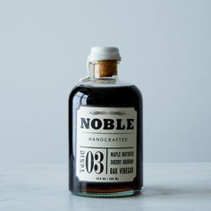 This is local product and packaging. Noble Tonic Tuthilltown Bourbon Barrel Matured Maple Syrup on Provisions by Bourbon Maple Syrup, Best Maple Syrup, Whiskey Distillery, Whisky, Sherry Vinegar, How To Make Pancakes, Bourbon Barrel, Sustainable Food, Cold Brew