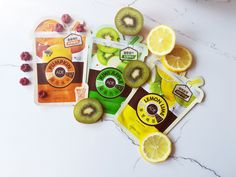 #mediheal#mask#sheet#review#blog Lemon Lime, Apple, Cosmetics, Blog, Apple Fruit, Blogging, Apples