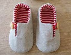 Resultado de imagen para molde de sapatinho de bebe