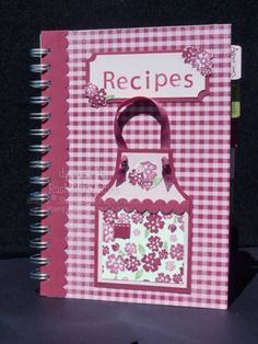 recipe book idea