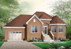 Plan de maison no. W3238 de dessinsdrummond.com