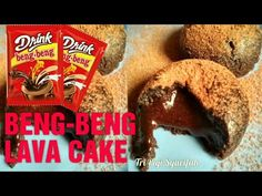 Lava Cake Recipes, Lava Cakes, Bolu Cake, Brownies Kukus, Resep Cake, Dessert Boxes, Indonesian Food, Chocolate Ganache, Cake Pops