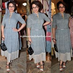 Tisca Chopra In Urvashi Kaur At The Designer's Collection Preview:Launch At Ensemble