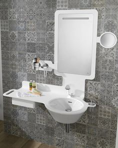 Noken Design propone #baños Pure White para crear amplias y luminosas atmósferas  Bathroom design Porcelanosa bathrooms Diseño de baños