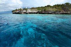 #wukinfo Pulau Menjangan merupakan pulau kecil yang terletak di 5 mil barat laut pulau Bali