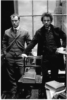 Sherlock Holmes and John Watson.