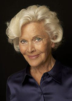 Honor Blackman, a Sean Connery Bond Girl who starred in