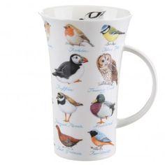 Dunoon Birds Glencoe shape Mug | Temptation Gifts