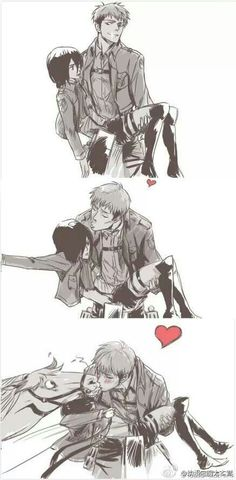 Jean x Mikasa or Jean x Jean ??: