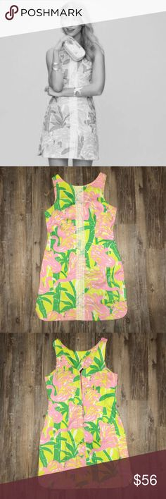 Lilly for Target Shift Dress Lilly for Target Shift Dress in great condition just doesn't fit me Lilly Pulitzer for Target Dresses Mini