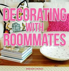 Living with roommates can feel like a juggling act, especially when your personal taste doesn't match your roommate's.