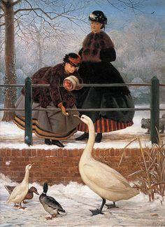 Frozen Out (1866) George Dunlop Leslie