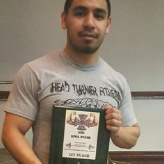 """1st in his class! #powerlifter #powerlifting  Daniel Chavarria power builder in the making and he doesn't even know it. So much muscle and strength in a compact 5'5"""" frame. #HeadTurnerFitness #FitCouples #Fitness #Fitfam #Dream #Believe #Achieve #Live #Love #Laugh #Lift #Faith #Inspire #Motivate #Bodybuilding #Physique #Figure #Entrepreneur #Keto #Ketosis #LCHF #Ketogenic by headturnerfitness"""