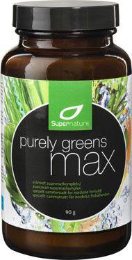 Kvinnamedsmak bloggar vinn PurelyGreensMax från Supernature!