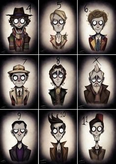 The doctor. Tim Burton's style