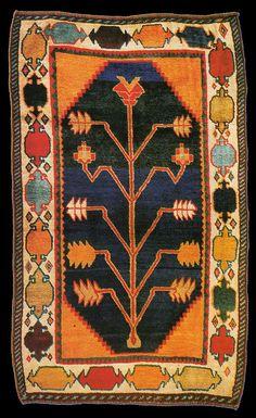 Lori Gabbeh Tribal Rug / Tree Of Life design