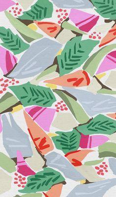 motifs feuilles par frameless