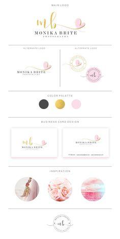 Marca paquete  Logos y diseño tarjeta de visita por SatinDesign