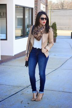 A Love Affair With Fashion : Faux Leather & Leopard