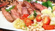 Stephanie & Tony's Table: Skirt Steak With Tomato And Bean Salad « CBS New York