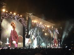 my own photos taken from my seat Adelaide Oval, Adelaide, Australia The Rolling Stones On Fire Tour 25/10/14