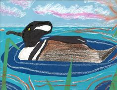 The 2013 Florida Junior Duck Stamp of Andrew Munz, 7, honorable mention in Group 1, grades K-3. DDWS photo