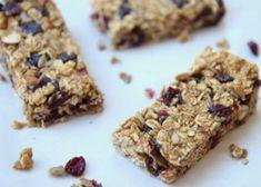 Homemade Granola Bars from Plum Organics