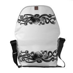 Octopus Courier Bag $111.00