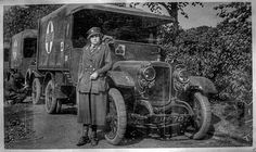 Convoy 369 - 1919  British Auxliary belonging to a group of voluntary women.WW1