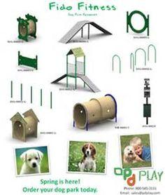 Dog Park Equipment - Bing images