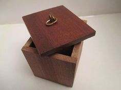 Make Memento Natural Wood Small Favour Box by MakeMemento on Etsy, £7.99