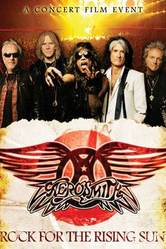 Aerosmith Concert Doc 'Rock for the Rising Sun' Coming to Theaters
