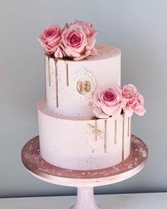18th Birthday Cake For Girls, 14th Birthday Cakes, Birthday Cake Roses, Sweet 16 Birthday Cake, Elegant Birthday Cakes, Beautiful Birthday Cakes, Elegant Cakes, Sweet 16 Cakes, Birthday Cake Decorating