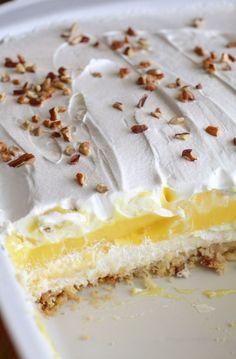 Lemon Dessert (aka Lemon Lush) - Recipes Instant