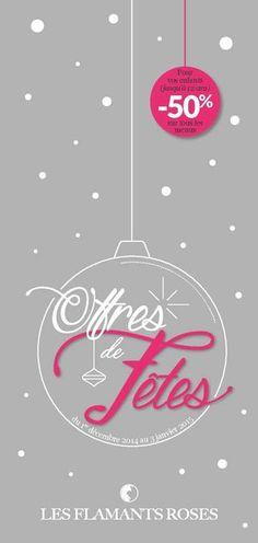 Offre de Fêtes 2014 - Hôtel Les Flamants Roses