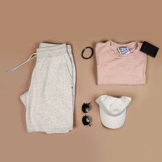 Men's outfit grid - activewear
