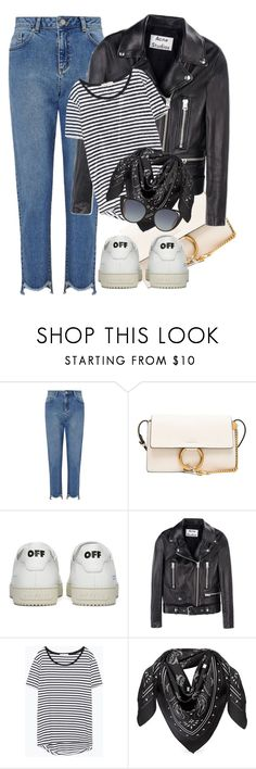 """Sin título #1533"" by solespejismo on Polyvore featuring moda, Miss Selfridge, Chloé, Off-White, Acne Studios, Zara, MCM y Fendi"