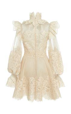 Perlas Off-The-Shoulder Silk Mini Dress by Leal Daccarett Fashion Mode, Kpop Fashion Outfits, Stage Outfits, Fashion Dresses, Pretty Dresses, Beautiful Dresses, Mode Kpop, Looks Vintage, Mode Inspiration