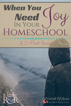 Here is how you can find joy in homeschool. Has the joy been sucked out of your homeschool? Are you finding yourself fighting with your kids, yelling at them to finish their work? I share a bit of insight as the some possible reasons why in the first of a 2-part series. When You Need Joy In Your Homeschool.   #BYB2016