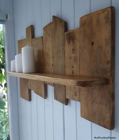 Found a nice project for using up offcuts : palletfurniture