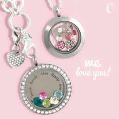 Give her an #origamiowl locket for #MothersDay this year. She will love this personalized gift from the heart!