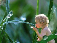 thirsty fairy child    ~ loveliegreenie