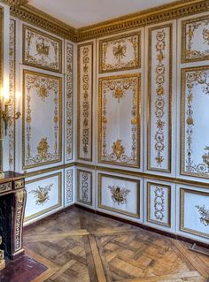 The last masterpiece of interior design created at Versailles before the Revolution, this tiny wardrobe, reached by way of the alcove in...