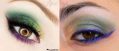 La mia versione del make up n° 1 per la terza edizione della #PaciugoPedia!
