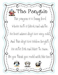 "Poem, ""The Penguin"""
