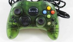 Official Halo Edition Original Microsoft Xbox Wired Controller Gamepad