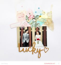 Lucky by Lilinfang at @studio_calico using CP Open Book