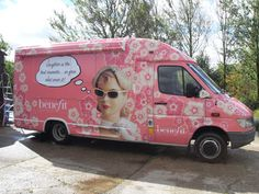 Cosmetics Van Wrap
