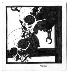 chick-n-thenuggets: Mike Mignola