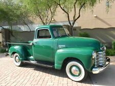 1950 Chevy 3100 5 Window Pick Up Rebuilt Engine Beautiful. 1951 Chevy Truck, Chevy Trucks, Chevy 3100, Chevy Pickups, Vintage Trucks, Old Trucks, My Dream Car, Dream Cars, Classic Trucks